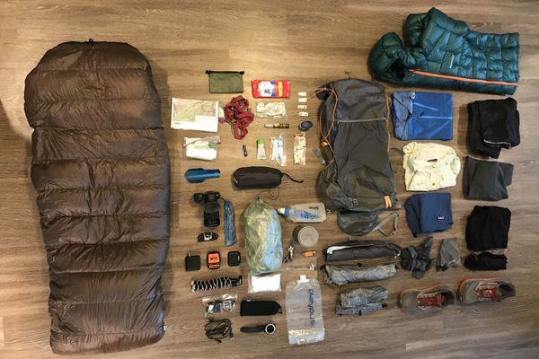 Badger's Pacific Crest Trail SOBO Thru-Hike Gear List