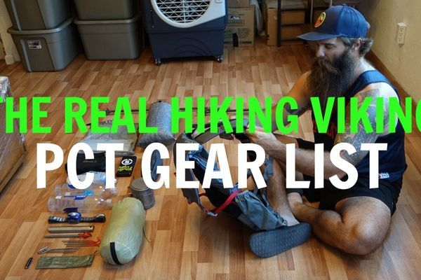 The Real Hiking Viking's Ultralight PCT Gear List