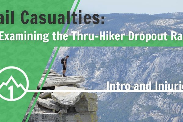 Trail Casualties: Examining the Thru-Hiker Dropout Rate (Part I)