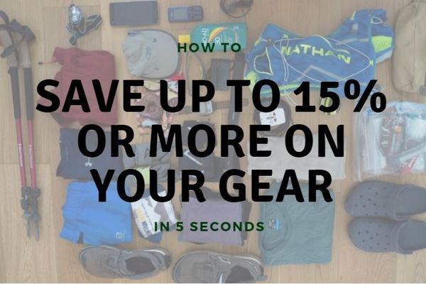 How To Save Up To 15% or More on Your Gear in 5 Seconds