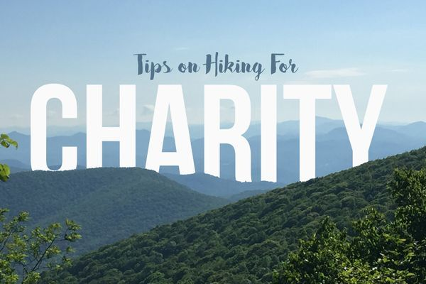 Tips on Hiking for Charity