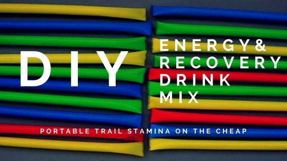 DIY Energy & Recovery Drink Mix