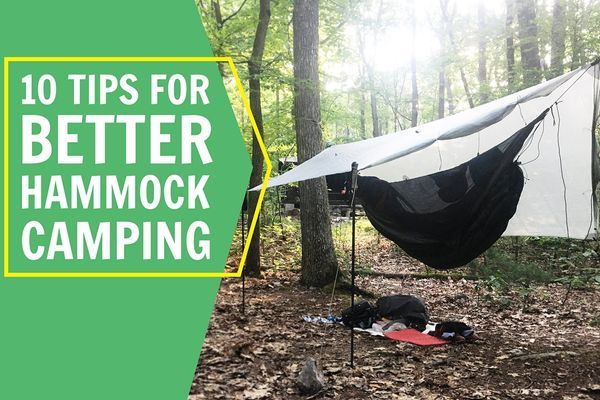 10 Tips for Better Hammock Camping