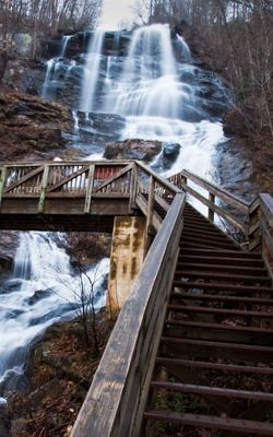 To Approach or Not to Approach:  starting NOBO at Amicalola Falls