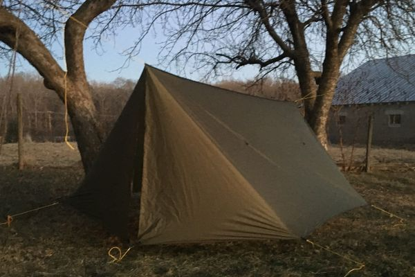 Gear Review: Warbonnet Superfly Hammock Winter Tarp