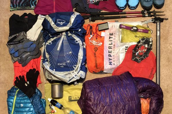 What I'm Packing for the PCT