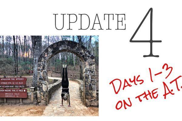 Update 4: Days 1-3