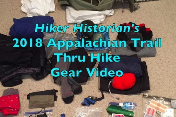 AT Thru-Hike Gear Video (and I Get Photobombed by My Cat)