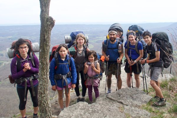 The Crawfords: A Family of 8 Takes on the Appalachian Trail