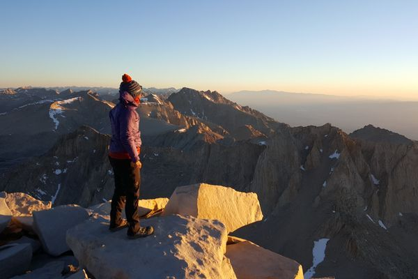 Spectacular Scenery and a Sunrise Summit in the Sierra