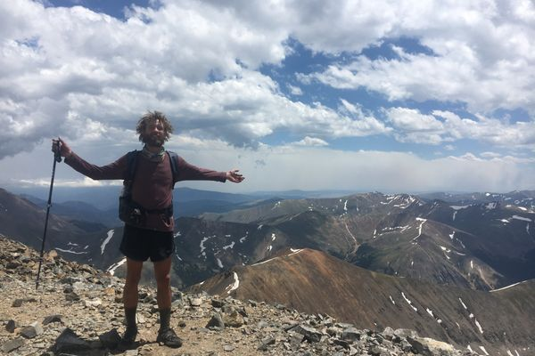 Two Months Walkin' the Continental Divide