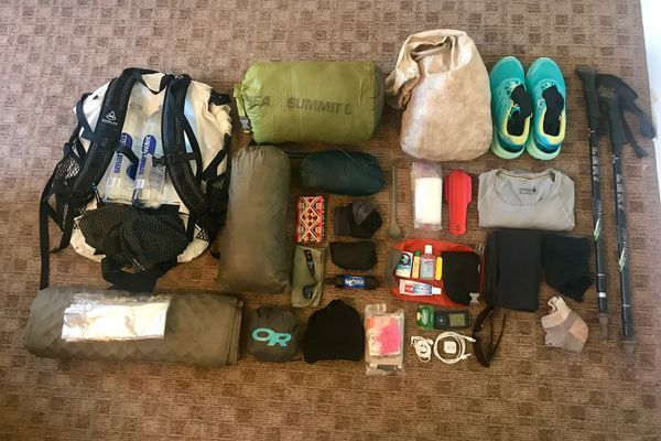 PCT Ultralight Gear List