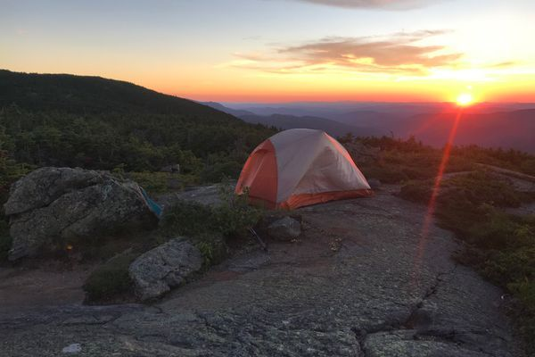 NH High Points: Omelette Man and Franconia Ridge