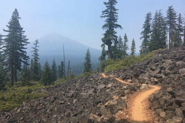 120 Miles Done: Through the Smoke and Fire to Crater Lake