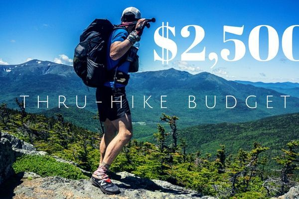 Breaking Down My $2,500 Thru-Hike Budget