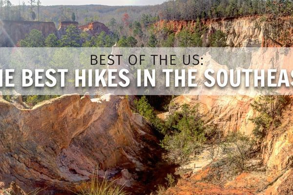 Best Day, Weekend, and Long-Distance Hikes of the Southeast
