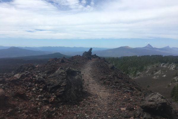 Into the Lava Fields in Oregon
