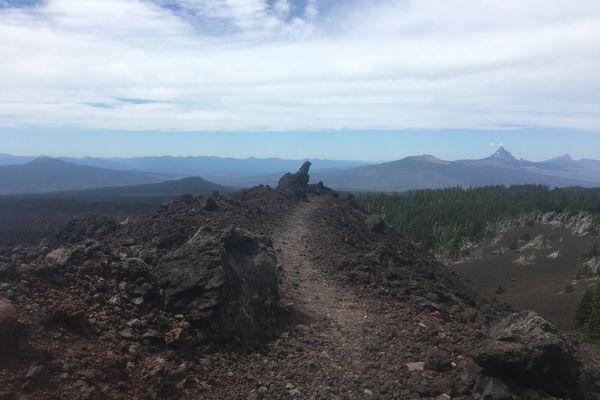 Into the Lava Fields in Oregon