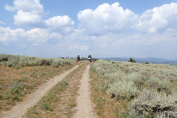 Ups and Downs on the Idaho/Montana Border