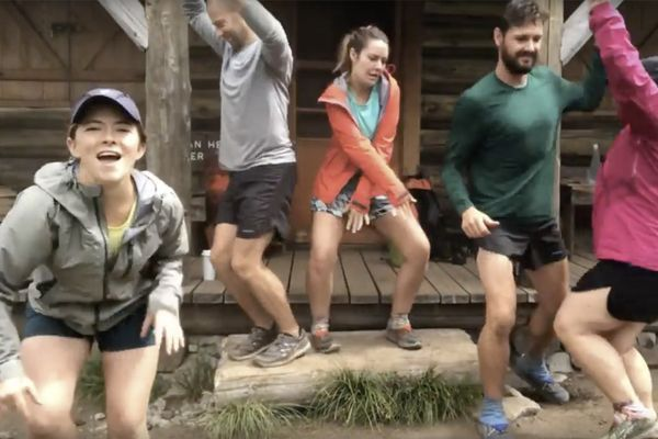 A Fivesome Thru-Hiked the Wonderland Trail and Made a Music Video Along the Way