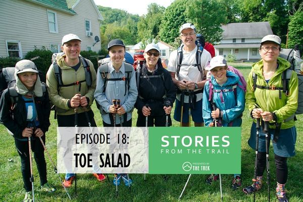 "Episode 18: Family Hiking with Shoe Expert Damien Tougas (aka ""Toe Salad"")"