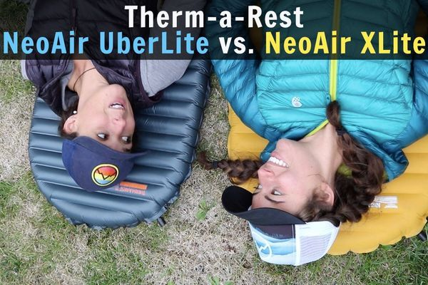 Therm-a-Rest NeoAir UberLite vs. NeoAir XLite [Video]