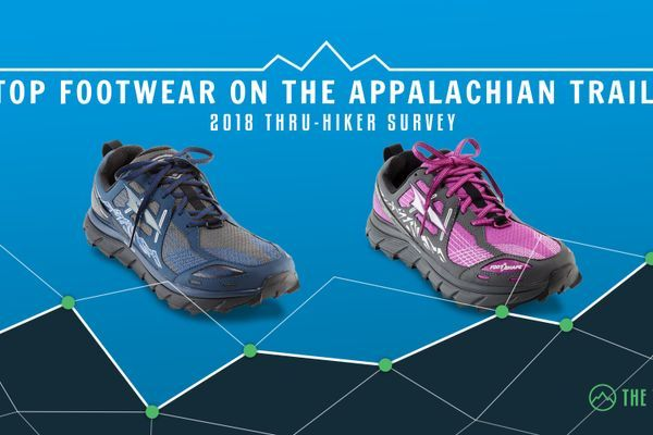 The Top Footwear on the Appalachian Trail: 2018 AT Thru-Hiker Survey