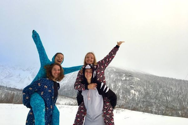 Onesies and Winter Camping: Or, How I fell in Love with Backpacking