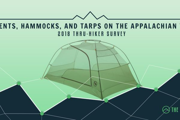 The Top Tents, Hammocks, and Tarps on the Appalachian Trail: 2018 Thru-Hiker Survey