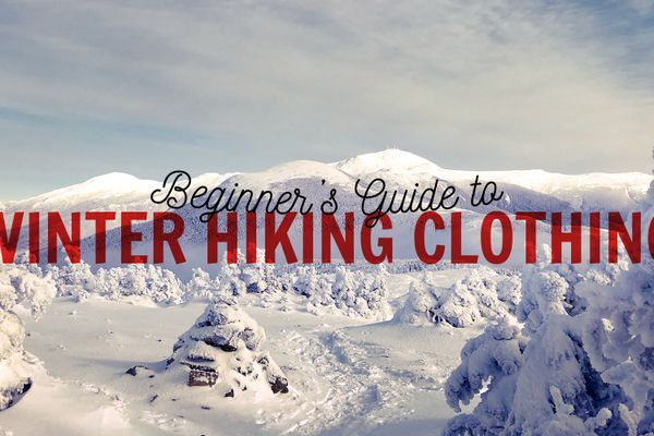 Beginner's Guide to Day Hiking: Winter Hiking Clothing