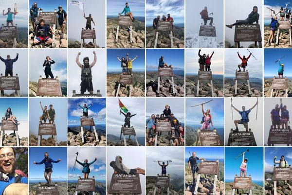 183 Glorious 2018 Appalachian Trail Thru-Hiker Summit Photos