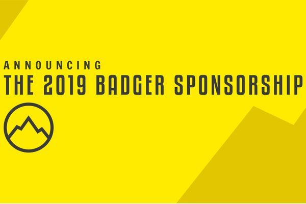 Announcing The 2019 Badger Sponsorship!