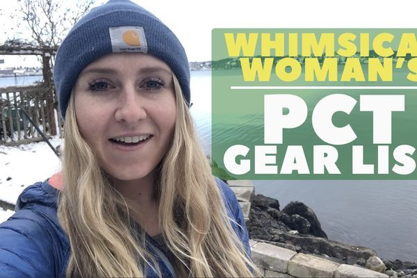 Whimsical Woman's Pacific Crest Trail Gear List