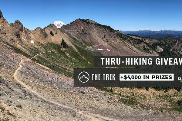 The Trek and Garage Grown Gear Present the Thru-Hiking Giveaway!