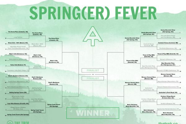 Spring(er) Fever Elite Eight: What Are the Best Restaurants on the Appalachian Trail?
