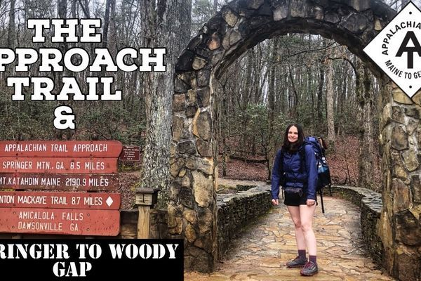 Julie's Appalachian Trail Vlog #3: Approach Trail and Springer to Woody Gap