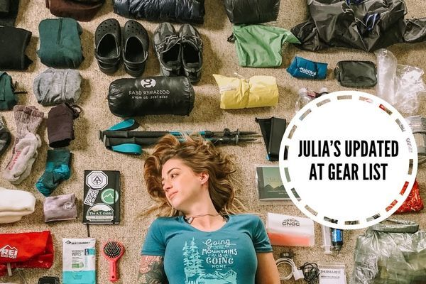 Julia's PRE-AT 2019 Vlog #4 – Updated Gear List
