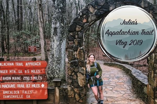 Julia's 2019 AT Vlog #1- Getting to the Appalachian Trail