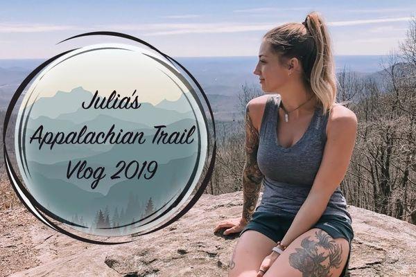 Julia's 2019 AT Vlog #2 – Week 1 part 1 – Springer Mountain to Unicoi Gap
