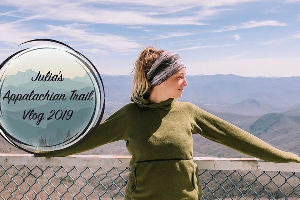 Julia's 2019 AT Vlog #4 – Muskrat Creek to Wesser Bald
