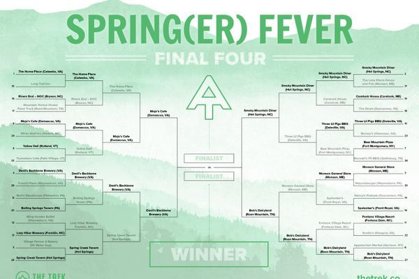 Spring(er) Final Four: What Is the Best Restaurant on the Appalachian Trail?