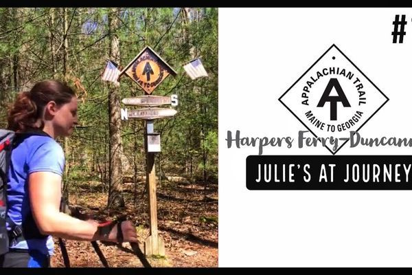Julie (Garden State)'s Appalachian Trail Vlog #17: Harpers Ferry to Duncannon