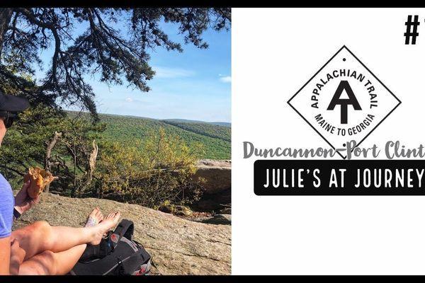 Julie (Garden State)'s Appalachian Trail Vlog #18: Duncannon to Port Clinton