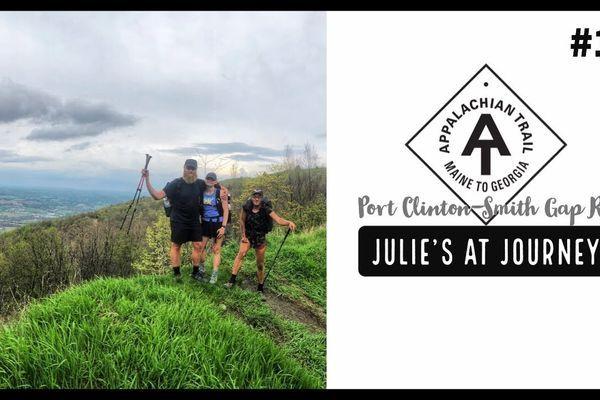 Julie (Garden State)'s Appalachian Trail Vlog #19: Port Clinton to Smith Gap Rd