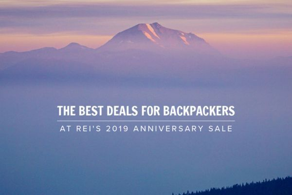 The Best Deals for Backpackers at REI's 2019 Anniversary Sale