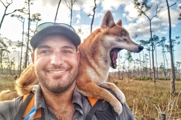 Thru-Hiking the 1,100-Mile Florida Trail With My Blind Dog