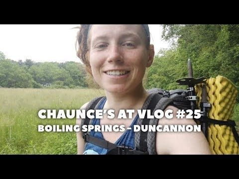 Chaunce's AT Vlog #25: Boiling Springs – Duncannon
