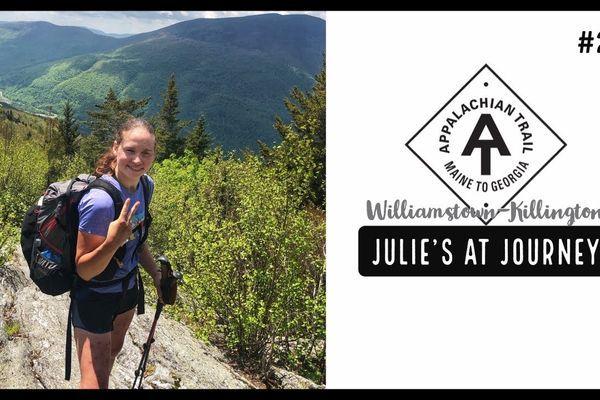 Julie (Garden State)'s Appalachian Trail Vlog #23: Williamstown to Killington