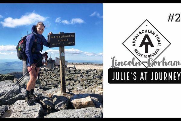 Julie (Garden State)'s Appalachian Trail Vlog #26: Lincoln to Gorham