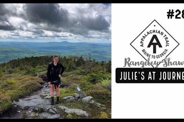 Julie (Garden State)'s Appalachian Trail Vlog #28: Rangeley to Shaw's
